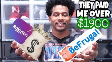 TUTORIAL: How To Use Rakuten & BeFrugal To Get Paid For Buying Kicks Online